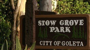 Stow Park Sign